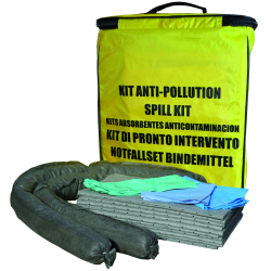 Kit d'intervention anti-pollution capacité de 20 L